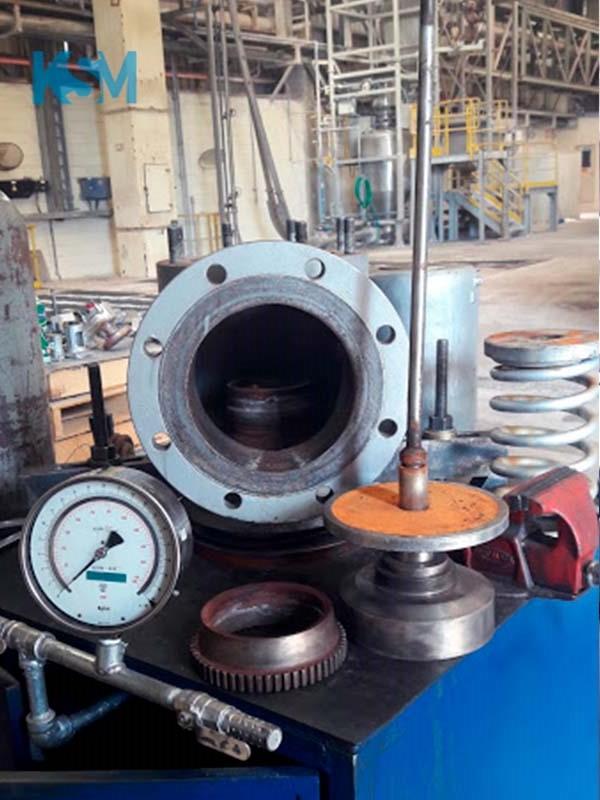 Empresas de manutenção em válvulas