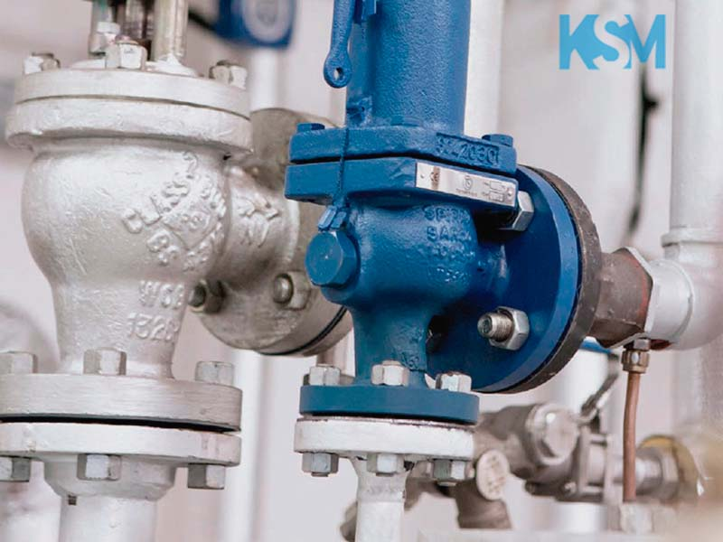 Manutenção de válvulas de caldeira